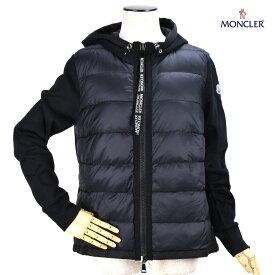 モンクレール MONCLER 84616.00 V8053/999 BLACK カーディガン パーカー ジップアップパーカー フーディー ブラック 黒 レディース【送料無料】