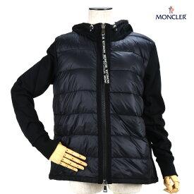 【お買い物マラソンSALE】モンクレール MONCLER 8G503.00 V8053/999 BLACK ダウンジャケット ダウンパーカー ジップアップパーカー ブルゾン ブラック 黒 レディース【送料無料】