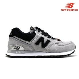 2550d171e257e0 ニューバランス New Balance ML574HGR 574 Eワイズ レディース グレー GRAY 黒 ブラック BLACK 【送料無料