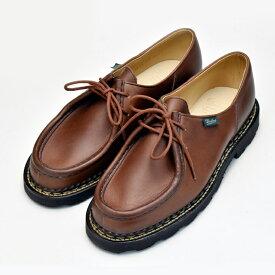 【12/1 0:00〜23:59 エントリーでポイント最大13倍】パラブーツ ミカエル マロン ブラウン PARABOOT MICHAEL 715603 MARRON BROWN チロリアンシューズ メンズ 靴 ブーツ 【送料無料】