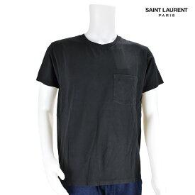サンローラン Saint Laurent YSL 396675 Y2OP1/1000 T-SHIRT Black