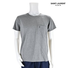 サンローラン Saint Laurent YSL 396675 Y2OP1/1403 T-SHIRT Grey