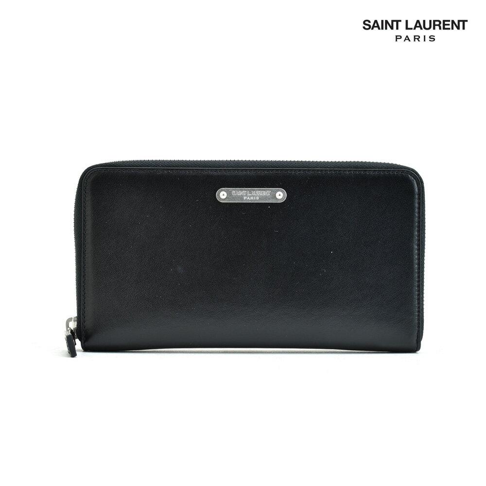 サン・ローラン・パリ YSL Saint Laurent 462359 DV70E/1000 財布/WALLET/ラウンドファスナー/長財布/小銭入れ付き/LEATHER【送料無料】