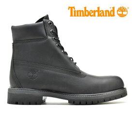 ティンバーランド Timberland Icon 6 Premium Boot A1GAU アイコン6 プレミアム ブーツ ワークブーツ メンズ ブラック 黒 BLACK【送料無料】