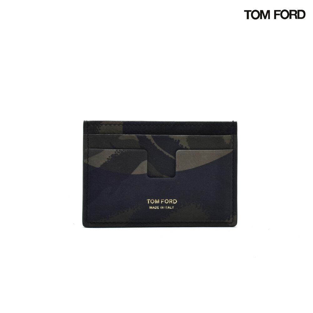 トムフォード TOM FORD Y0232FCH1 CAMOUFLAGE PRINT CARDHOLDER カモフラージュ プリント カードホルダー カード入れ カードケース パスケース 迷彩 カモ柄 カモフラ メンズ【送料無料】[po_3]