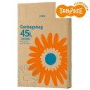 ゴミ袋 乳白半透明 45L BOXタイプ 1セット(660枚:110枚x6箱)