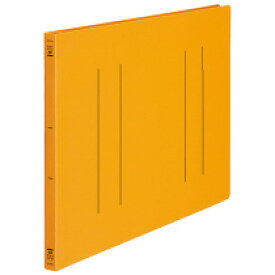 フラットファイル(PP) 発泡PP A3ヨコ 2穴 150枚収容 オレンジ 10冊