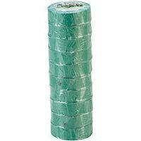 オカモト ビニールテープ No.470 19mm×10m 緑 No.470−19x10 ミドリ 1パック(10巻)