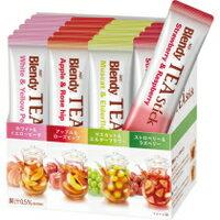 味の素AGF ブレンディ ティースティック フルーツティーアソート 4種アソート 7.5g 1箱(20本)