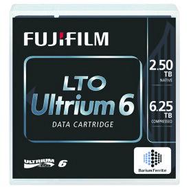 富士フイルム LTO Ultrium6 データカートリッジ バーコードラベル(縦型)付 2.5TB LTO FB UL−6 OREDPX5T 1箱(5巻)