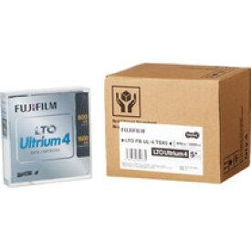 富士フイルム LTO Ultrium4 データカートリッジ 800GB/1.6TB 1パック(5巻)