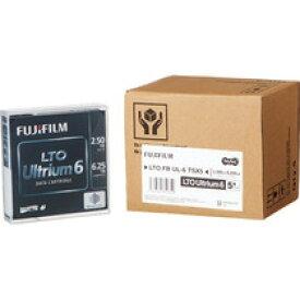 富士フイルム LTO Ultrium6 データカートリッジ 2.5TB/6.25TB 1パック(5巻)