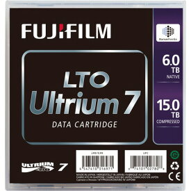 富士フイルム LTO Ultrium7 データカートリッジ 6.0TB/15TB 1パック(5巻)