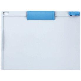 ソニック クリップボード A4ヨコ 青×ライトグレー CB−253−BL 1枚