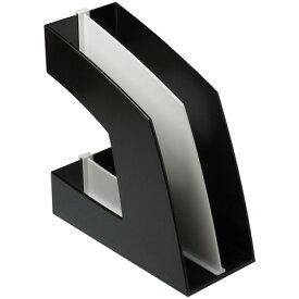 ソニック ファイルボックス 仕切板付 A4タテ 背幅107mm ブラック FB−708−D 1セット(10個)