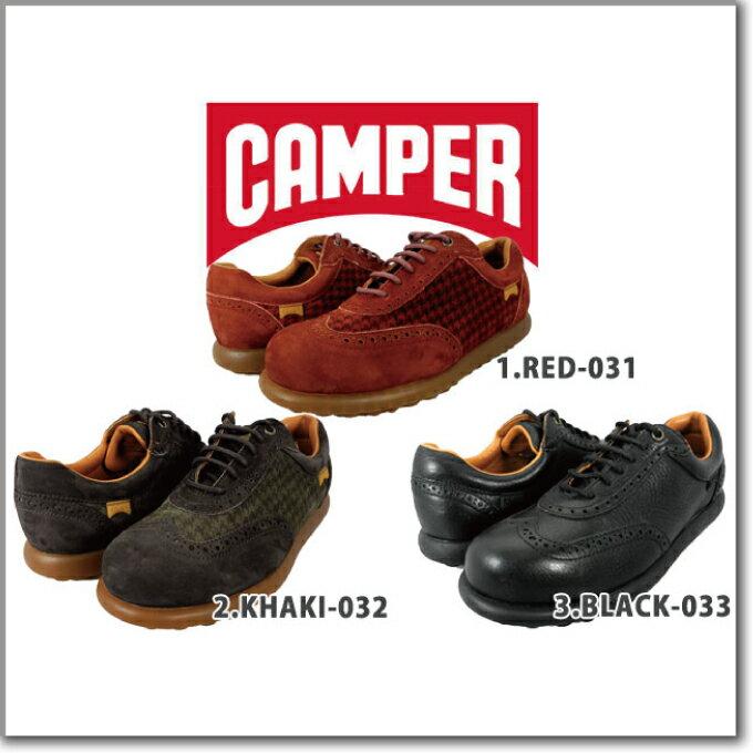 カンペール CAMPER RED-031/KHAKI-032/BLACK-033 20878-31/20878-032/20878-33LADY'S