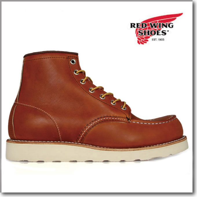 レッドウィング red wing 875 オロレガシー クラシックワーク 6インチ・モック・トゥ レッド・ウイング oro-legacy classic work 6inch moc-toe