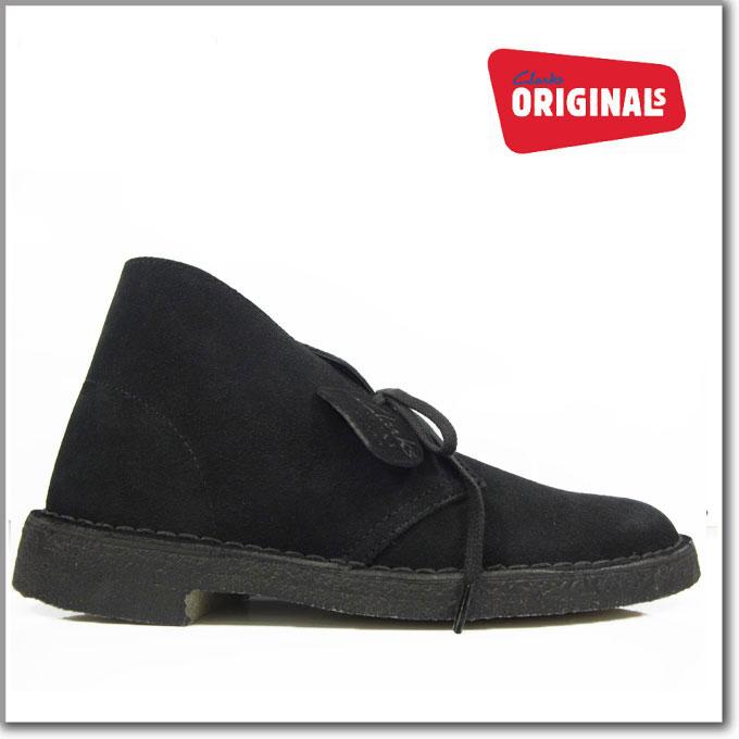 クラークス デザートブーツ ブラック スエード 黒 CLARKS 31691 26107882 DESERT BOOT BLACK SUEDE メンズ