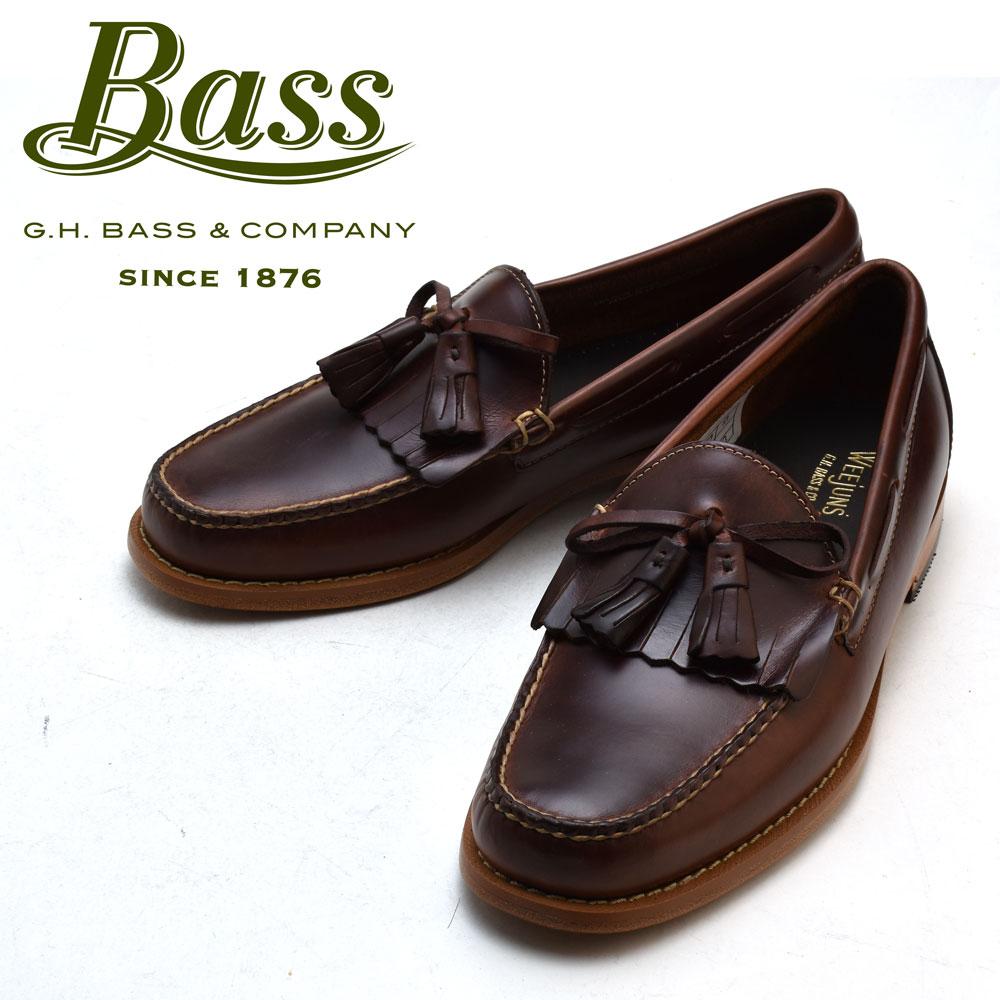 G.H BASS LAYTON PULL UP DARK BROWN G.H.バス ローファー ダークブラウン 革靴