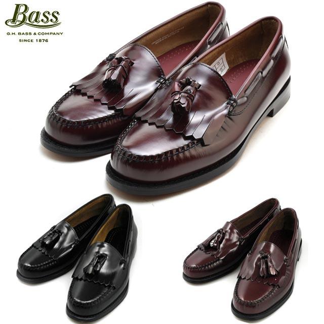 G.H BASS LAYTON BLACK/ BURGUNDY/ 490161/490268G.H.BASS G.H.バス LAYTON レイトン ブラック/バーガンティ/ワイン ローファー 革靴 【送料無料】[co-3]