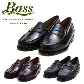 ジーエイチバス G.H.BASS WHITNEY ホイットニー ブラック バーガンディー コードバン ネイビー ローファー 革靴 レディース