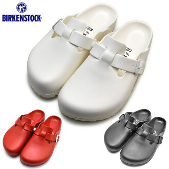 #Spring のてくてく support ♪ ビルケンシュトック BIRKENSTOCK EVA BOSTON Boston width narrow narrow black black white white red red comfort casual sandals men gap Dis