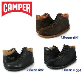 カンペール CAMPER PEROTAS ARIEL BLACK-002/BLACK-S-004/BROWN-003 36655-002/36655-003/36655-004[co-8]