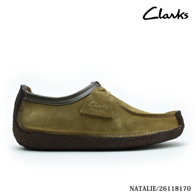 クラークス ナタリー オークウッド スエード CLARKS NATALIE 26118170 UK規格 本革 レザー メンズ