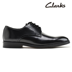 クラークス メンズ ビジネスシューズ オックスフォードシューズ ブラック 黒 CLARKS OLIVER LACE【送料無料】