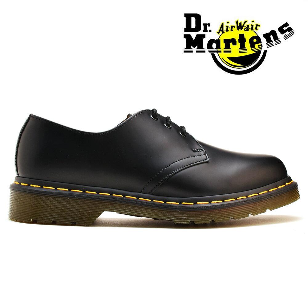 ドクターマーチン 3ホール ギブソン Dr.MARTENS 1461 GIBSON ブラック 黒 R11838002 メンズ レディース