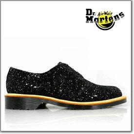 ドクターマーチン Dr.MARTENS1461W 3EYE BOOTS 15457001BLACK SEQUEL GLITTER 貴重な原産国イングランド