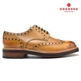 グレンソン GRENSON ARCHIE 110006 CALF 靴 メンズ アーチー カーフ タン TAN ブーツ【送料無料】
