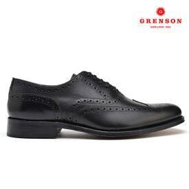 グレンソン GRENSON DYLAN 110013 CALF ディラン カーフ 靴 メンズ ブラック 黒 BLACK ブーツ【送料無料】