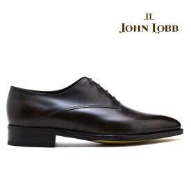 ジョンロブ JOHN LOBB BECKETTS ベケッツ ダーク ブラウン ホールカット プレステージ ソール オックスフォード ビジネス ドレス シューズ イギリス製 革靴 メンズ【送料無料】