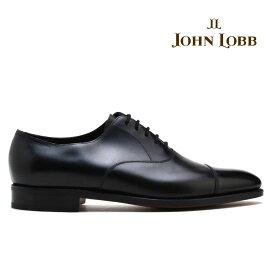 ジョンロブ JOHN LOBB CITY2 シティ2 ブラック キャップトゥ オックスフォード ビジネス ドレス シューズ イギリス製 革靴 メンズ【送料無料】