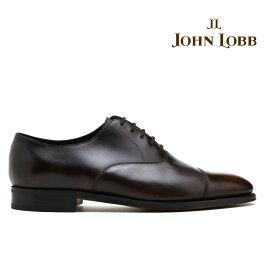 ジョンロブ JOHN LOBB CITY2 シティ2 ダークブラウン ビジネス ドレス 革靴 シューズ イギリス製 メンズ【送料無料】