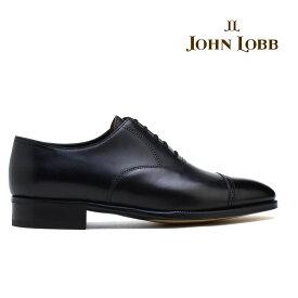 ジョンロブ JOHN LOBB PHILIP2 フィリップ2 ブラック ビジネス ドレス シューズ イギリス製 革靴 メンズ【送料無料】