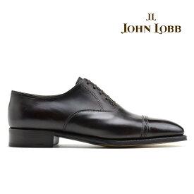 ジョンロブ JOHN LOBB PHILIP2 DARK BROWN MUSEUMCALF フィリップ2 オックスフォード ダーク ブラウン ビジネス ドレス シューズ イギリス製 革靴 メンズ【送料無料】