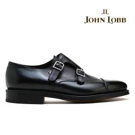 ジョンロブ ウィリアム2 ブラック ダブルモンク JOHN LOBB WILLIAM2 ダブルレザー ドレスシューズ メンズ イギリス製【送料無料】