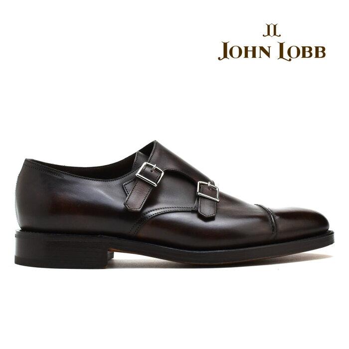【期間限定ポイント3倍】ジョンロブ JOHN LOBB WILLIAM2 MUSEUMCALF ウィリアム2 ミュージアム カーフ ダーク ブラウン ダブル モンク ビジネス ドレス シューズ イギリス製 革靴 メンズ [マラソン価格]