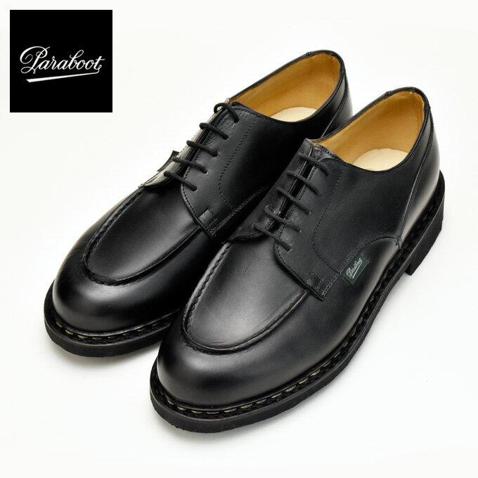 パラブーツ シャンボード ブラック 黒 PARABOOT CHAMBORD 710709 BLACK Uチップ