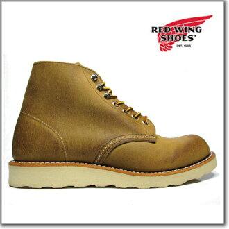 红翼红翼 8181 霍桑圆靴平原脚趾红翼圆趾靴山楂植物 D 明智重做 8181 ◆