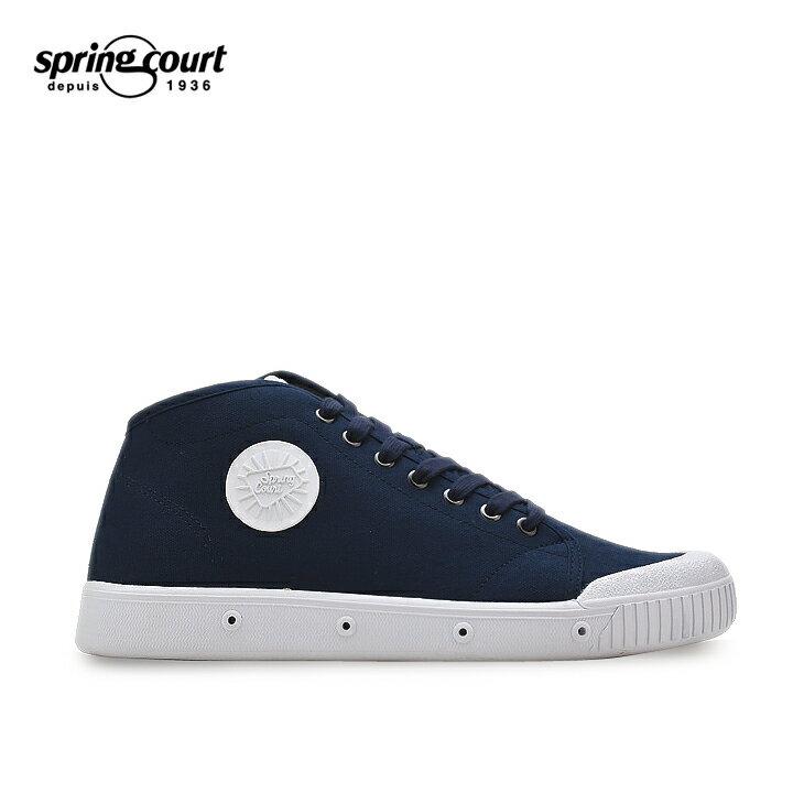 SPRING COURT スプリングコート B2N-1002-2 M.blue BLUE ブルー 青 メンズ 靴 シューズスニーカー