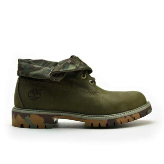 Timberland boots roll top Basic Roll-Top 6662B Olive Camo/Green