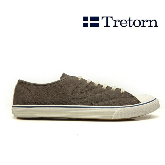 TRETORN トレトン トーナメント フレック TOURNAMENT FLECK 473071 メンズ GREY ネップ スニーカー