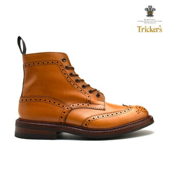 Trickers TRICKER's MALTON COUNTRY BOOT M2508 ACORN ANTIQUE M2508 ダイナイトソール country boots Acorn antiques