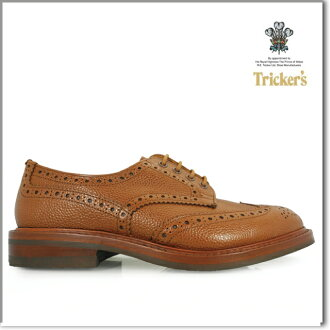 Trickers BROGUE SHOES 5633 and SIENNA SCOTCH 5633 TRICKER's BOURTON ダイナイトソール brogue shoes Sienna Scotch Tricker's