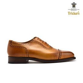 【父の日】トリッカーズ TRICKER'S 6143 BELGRAVE ベルグレイブ クォーターブローグ ドレスシューズ ビジネスシューズ ブラウン メンズ ギフト プレゼント ラッピング