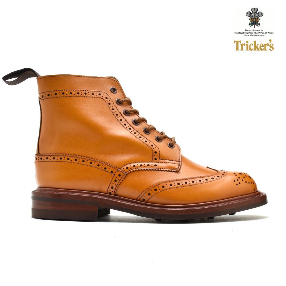 トリッカーズ TRICKER'S L5676 STEPHY ACORN ANTIQUE ステフィー カントリーブーツ エイコーン アンティーク ダイナイトソール レディース