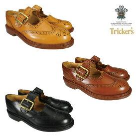 【父の日】トリッカーズ TRICKER'S L6011 BUCKLE BROGUES SHOES L6011 ダブルレザーソール バックル ブローグシューズ Tricker's ギフト プレゼント ラッピング